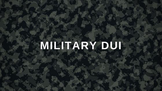 Ohio Military DUI camo