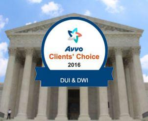 Avvo client choice logo