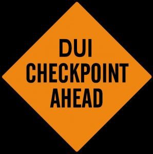 dui checkpoint alerts