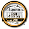 NAFDD Superior DUI Attorney badge